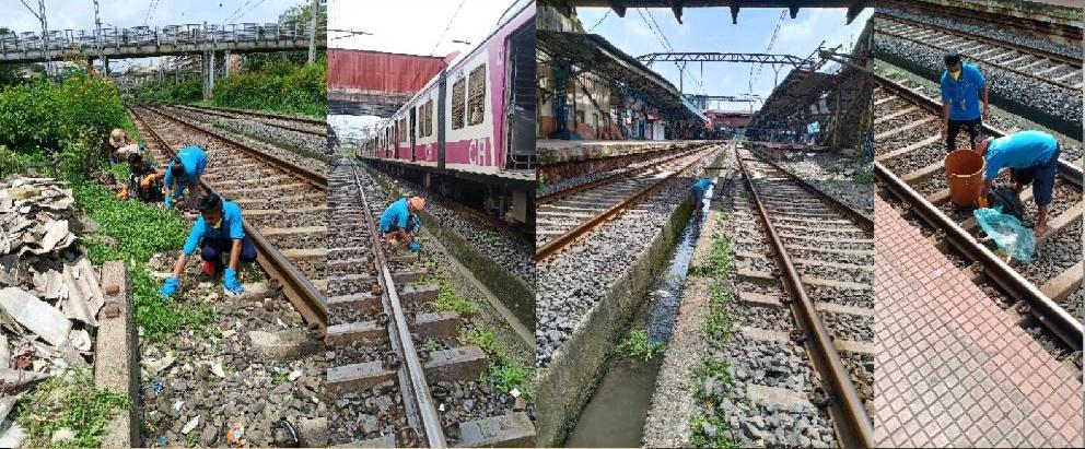 Adarsh Maharashtra | रेल्वेत कंत्राट पध्दतीने  काम करणाऱ्या कर्मचाऱ्यावर सुपरवायझर कडुन...