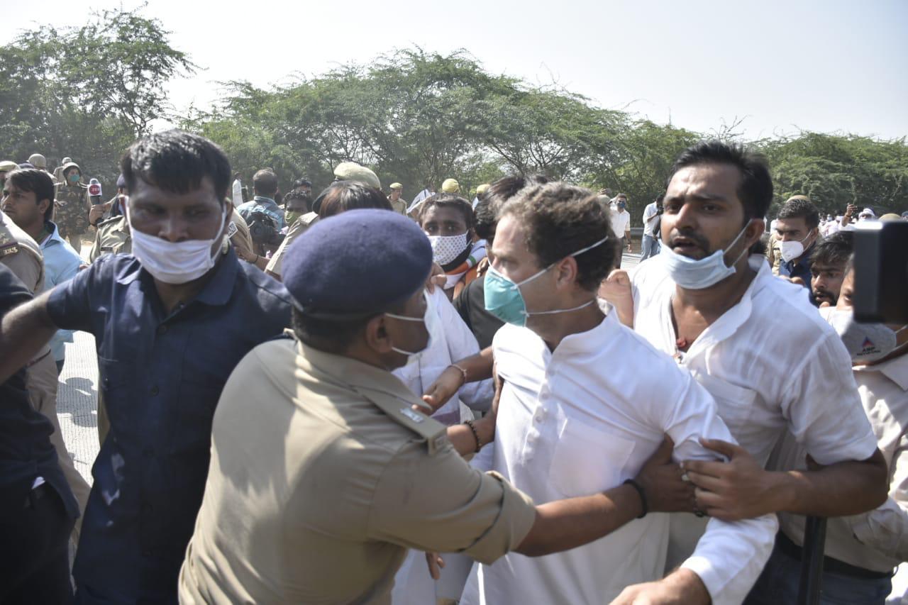 Adarsh Maharashtra | राहुल गांधी यांना झालेल्या धक्काबुक्कीचा शहापुर काँग्रेस तर्फे जाहीर...