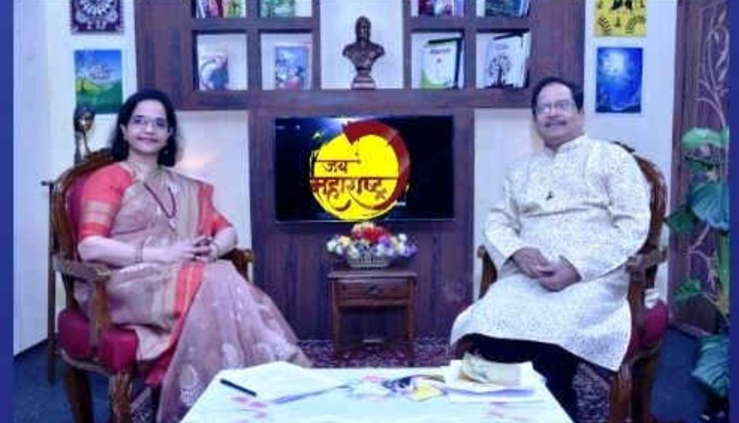 Adarsh Maharashtra   जय महाराष्ट्र कार्यक्रमात लेखक, कवी प्रवीण दवणे यांची मुलाखत