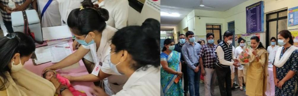 Adarsh Maharashtra | उपजिल्हा रुग्णालय माणगांव येथे पालकमंत्री आदिती तटकरे यांच्या हस्ते पल्स...