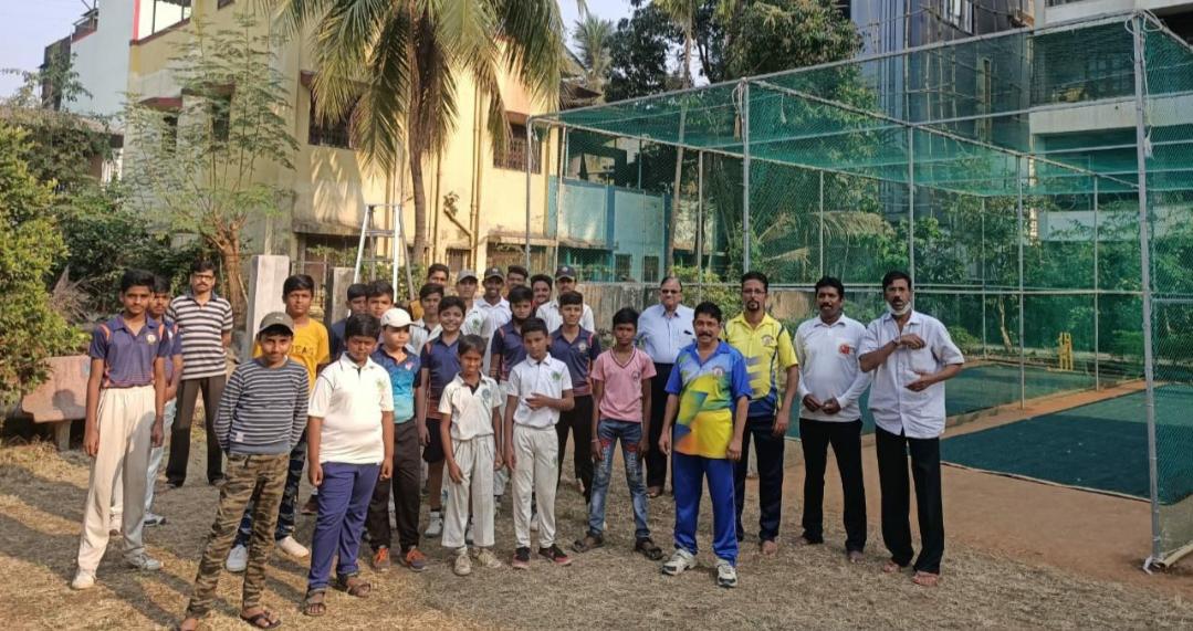 Adarsh Maharashtra | न्यू पनवेल क्रिकेट अकॅडेमी एकेडेमीचे उदघाटन