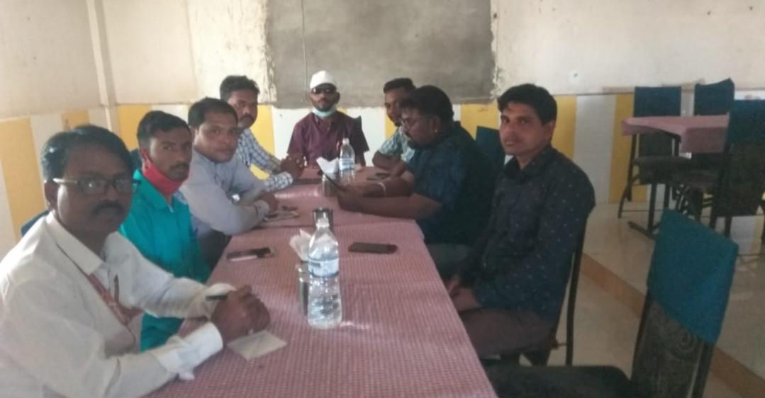 Adarsh Maharashtra | म.रा.मराठी पत्रकार संघाची तालूका कार्यकारिणी गठित