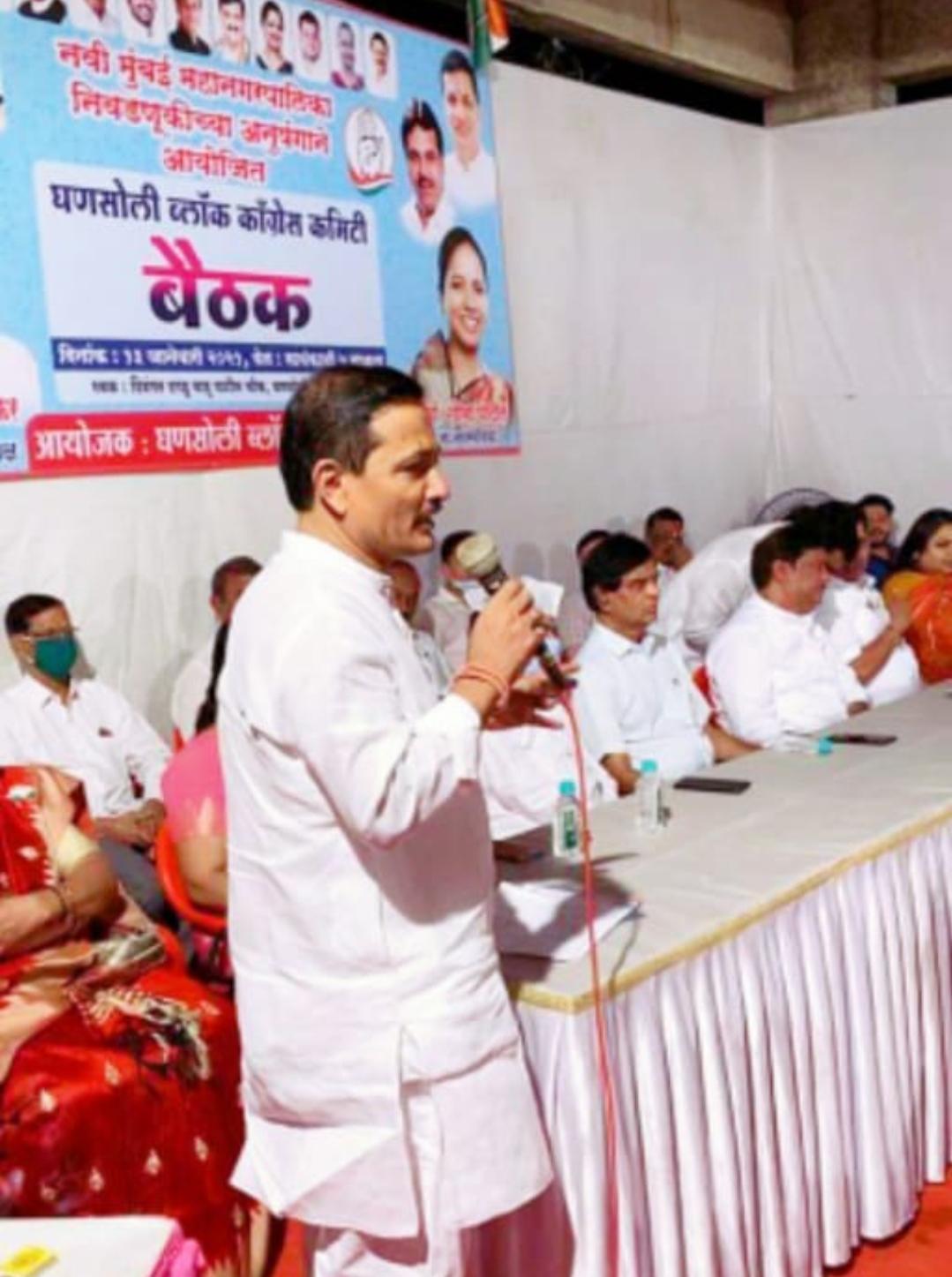 Adarsh Maharashtra | काँग्रेस पक्षाची निष्ठा ही माझ्या रक्तातच आहे ! माजी नगरसेवक दिपक पाटील...