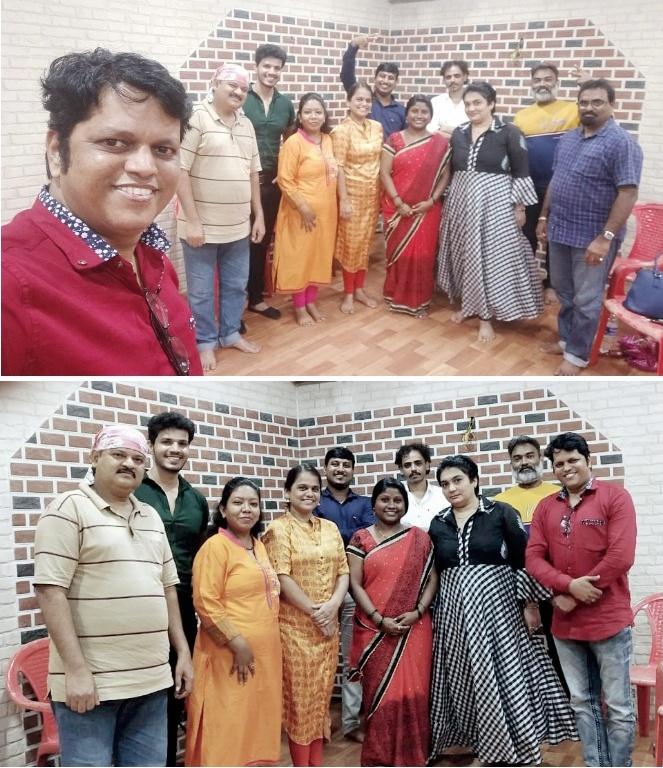 Adarsh Maharashtra | लोकस्वराज्य फिल्म अँड टेलिव्हिजन ट्रेड युनियन च्या मुंबई जिल्हा...