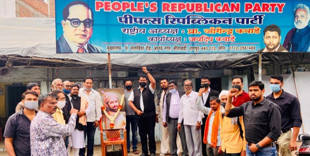 Adarsh Maharashtra | शिवाजी महाराजांनी आधुनिक लोकशाहीचा पाया रचला -जयदीप कवाडे
