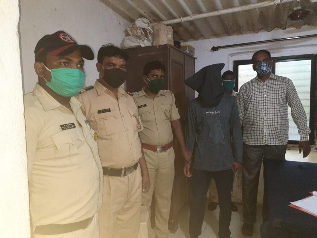Adarsh Maharashtra | ...आणि उत्तर प्रदेशचा फरार खुनी शहापुर पोलिसांच्या हाती