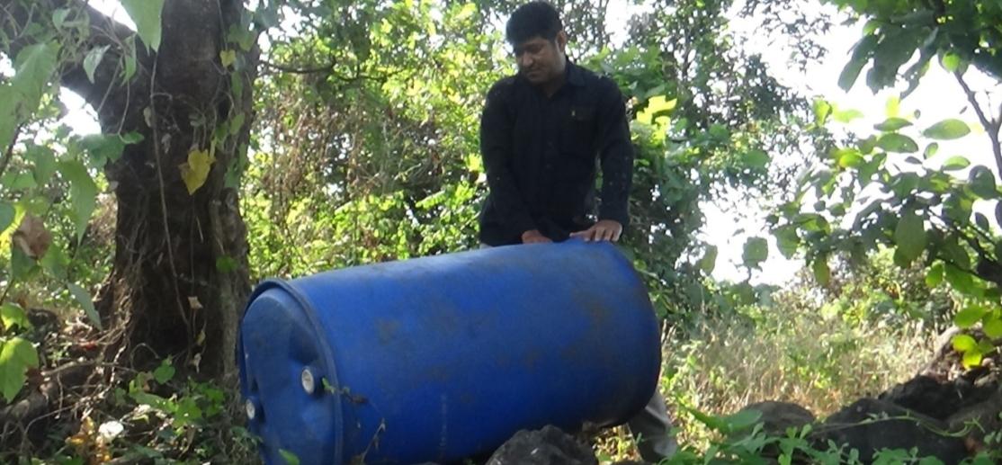 Adarsh Maharashtra | शहापूर पोलिसांची धडक कारवाई, दहा हातभट्ट्या उध्वस्त