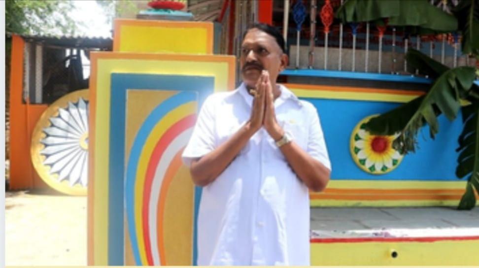 Adarsh Maharashtra | घोडेगाव बौद्ध वस्ती येथे बौद्धविहार जिर्णोध्दार व बुद्ध रुपाची...