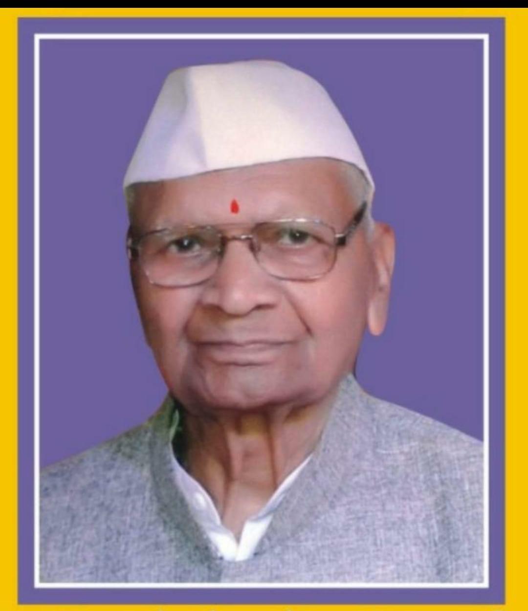 Adarsh Maharashtra | शहापूर पंचायत समितीचे प्रथम सभापती पांडुरंग जागरे यांचे  निधन@