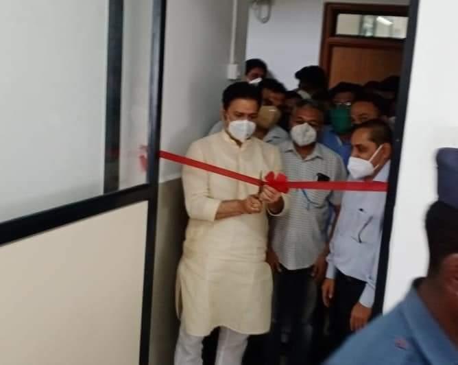 Adarsh Maharashtra | कोरेगाव ग्रामीण रुग्णालयातील विस्तारीत कक्षातील आयसीयुचे आमदार शशिकांत...