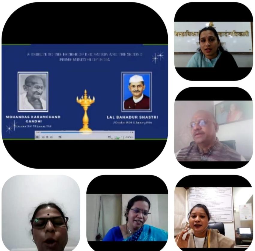 Adarsh Maharashtra | महात्मा गांधींच्या स्वप्नातील स्वयंपूर्ण भारत - नई तालीम  जिल्हाधिकारी...