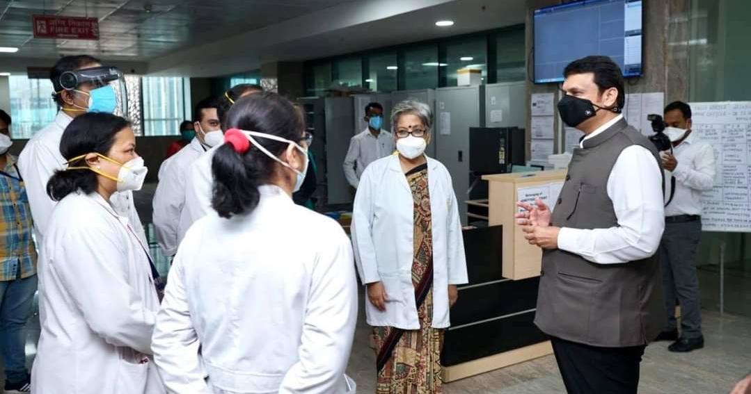 Adarsh Maharashtra | नागपुरात आज देवेन्द्र फडणवीसांची एम्स आणि मेयो हॉस्पिटलला भेट