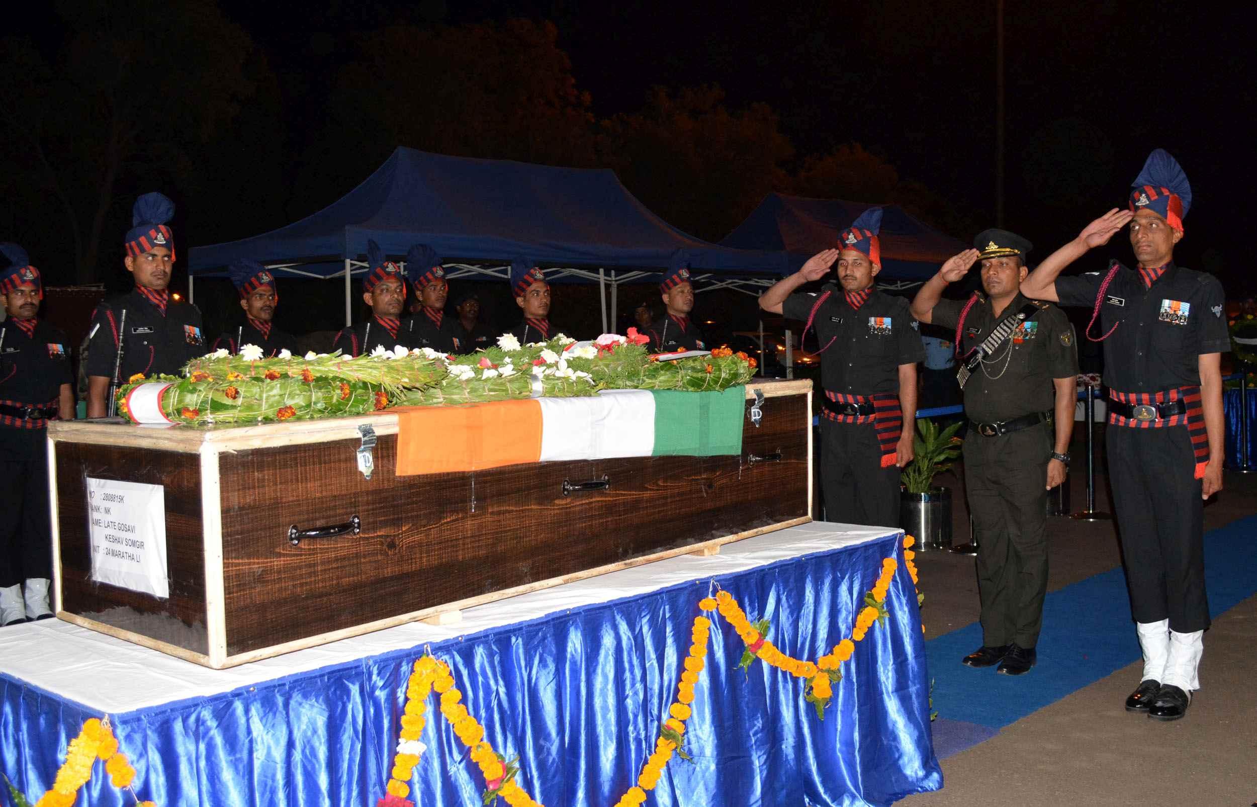Adarsh Maharashtra | शहीद केशव गोसावी यांना ओझर येथे श्रद्धांजली अर्पण