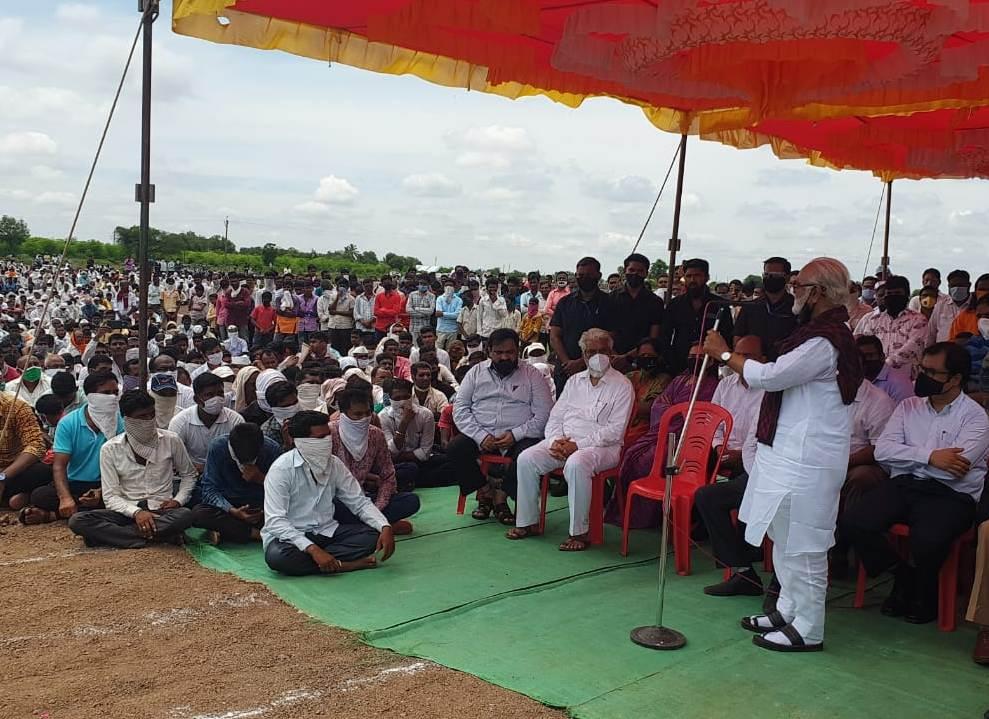 Adarsh Maharashtra | शहीद जवान सचिन मोरे यांना पालकमंत्री ना.छगन भुजबळ यांच्याकडून भावपुर्ण...