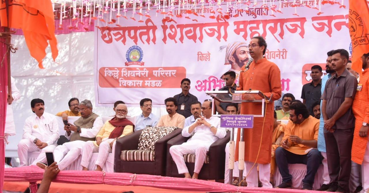 Adarsh Maharashtra | छत्रपतींच्या विचारांचा वारसा पुढे नेण्यासाठी कटिबध्द- मुख्यमंत्री
