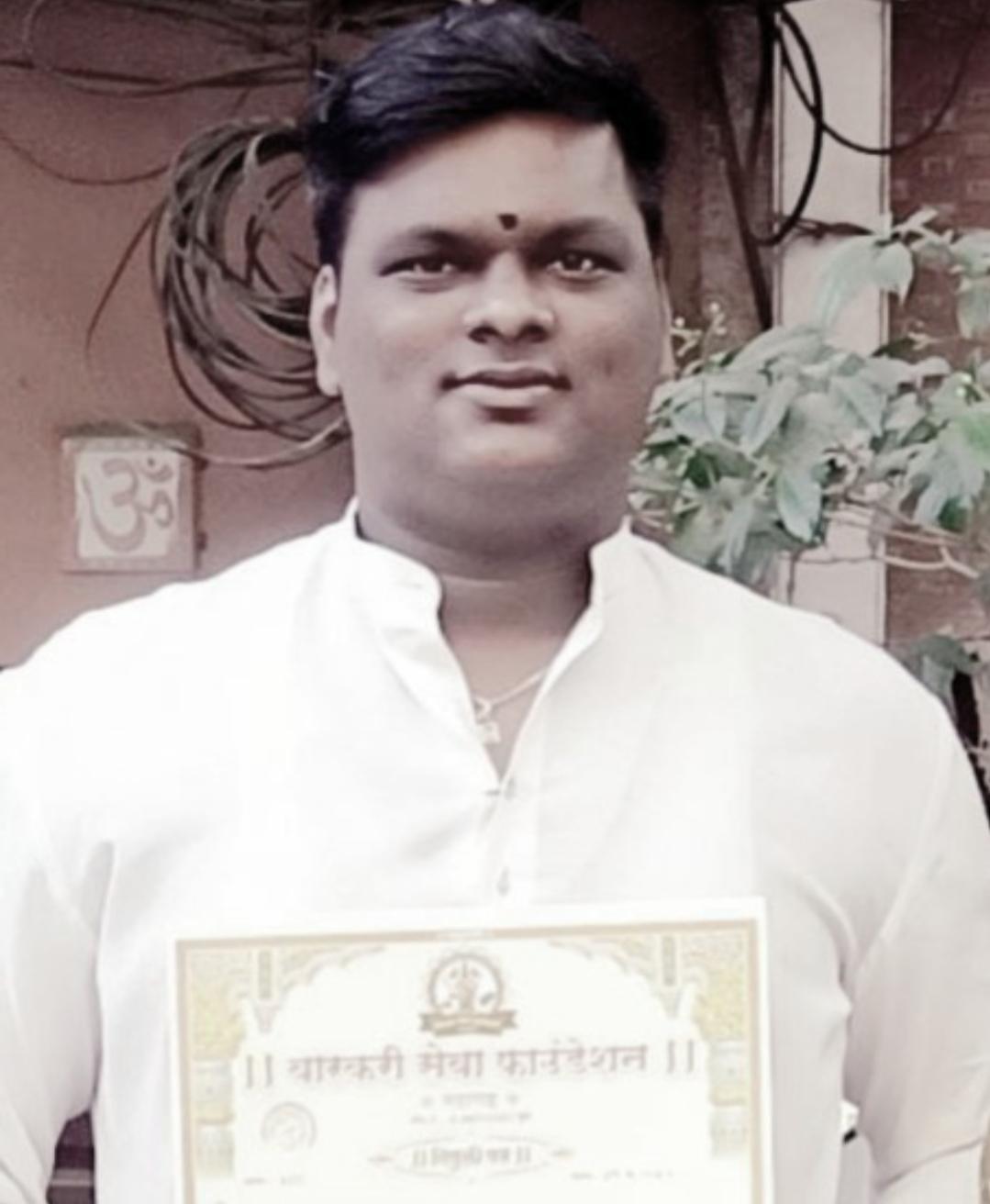 Adarsh Maharashtra | वारकरी सेवा फाऊंडेशनच्या घाटकोपर उपाध्यक्षपदी हभप प्रतिक केसरकर